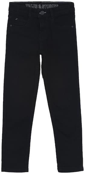 Tales & Stories Boy's Slim fit Jeans - Black