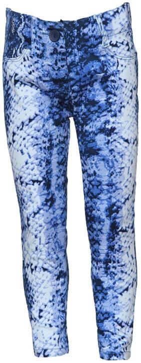 Tales & Stories Blue Animal Printed Trouser