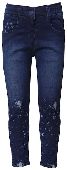 Tales & Stories Basic Slim fit Jeans for Girls - Blue