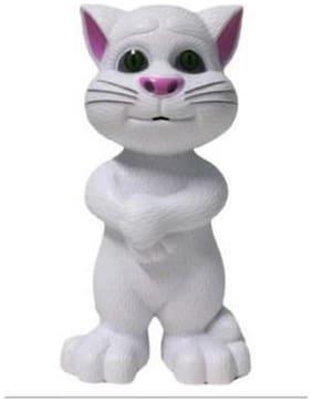 talking tom cat white