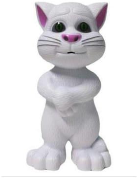 Shanaya talking tom cat white