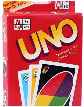 TamBoora UNO CARDS classic card game of matching colors and numbers