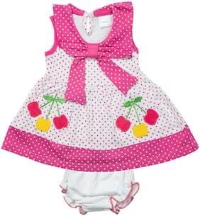 Tasselz Baby girl Top & bottom set - Pink