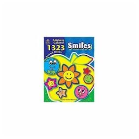 Teacher Created Resources Smiles Sticker Book - Assorted (4223)