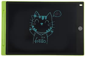 Tech Gear LCD Writing Tablet 8.5 Inch Drawing Board Erasable Notepad Paperless Stationery Doodle Slate Electronic Blackboard (Green)