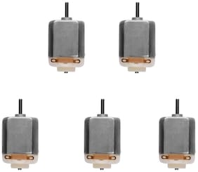 TechDelivers 5 Pieces DC Toy Motor 3V to 12V DC