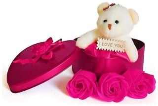 TEDDY,ANNIVERSARY GIFT,RETURN GIFT,LOVER GIFT,BIRTHDAY GIFT,WEDDING GIFT,VALENTINE GIFT,PINK COLOR ,PACK OF 1