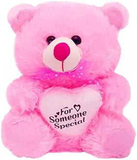 Smarter Perfect Pink Teddy Bear - 30 cm