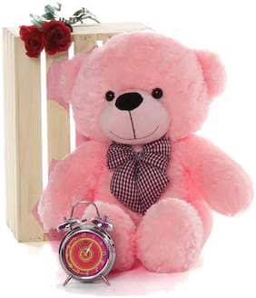 CROCOZILE Pink Teddy Bear - 85 cm