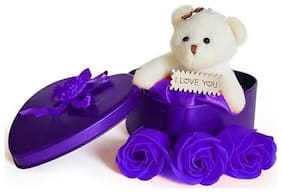 TEDDY,VALENTINE GIFT,LOVER GIFT,BIRTHDAY GIFT,ANNIVERSARY GIFT,WEDDING GIFT,RETURN GIFT,PURPLE COLOR,PACK OF 1