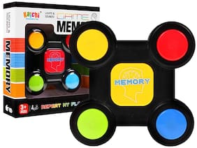 TEMSON Sequence Remember Brain Development Electronic Memory Game Toy with Light and Sound Effects for Kids