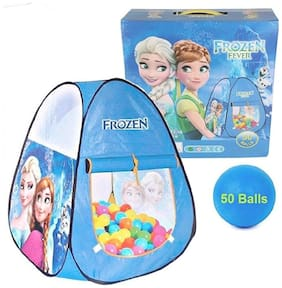 TENT HOUSE WITH 50 BALLS