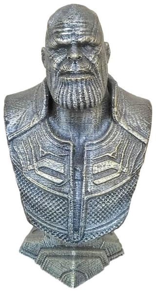Thanos Bust : Avengers - Infinity war, End game marvel super hero antique look showpiece