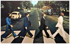 The Beatles sticker | beatles stickers | beatles music sticker | beatles musical band sticker