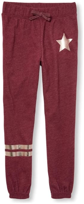 THE CHILDREN'S PLACE Girl Cotton Track pants - Red