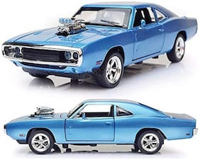 The Fast and The Furious Diecast Alloy Metal Dodge Charger Model Classic Cars Toys for Kids