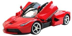 The Flyer's Bay Rechargeable Ferrari Style Rc Car With Fully Function Doors