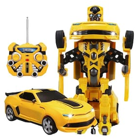 The Flyer'S Bay Troopers Rc Transforming Car Cum Robot Simulation Model With Sound Light