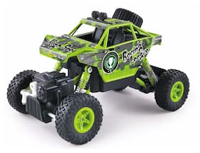 The Flyer's Bay King 2.4G 4WD Turned Climb Off-road Rock Crawler RC Car- RTR (Green)
