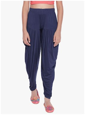 The Pajama Factory Girl Viscose Trousers - Blue