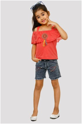 The Panda Ant Girls Party  Shorts & Top