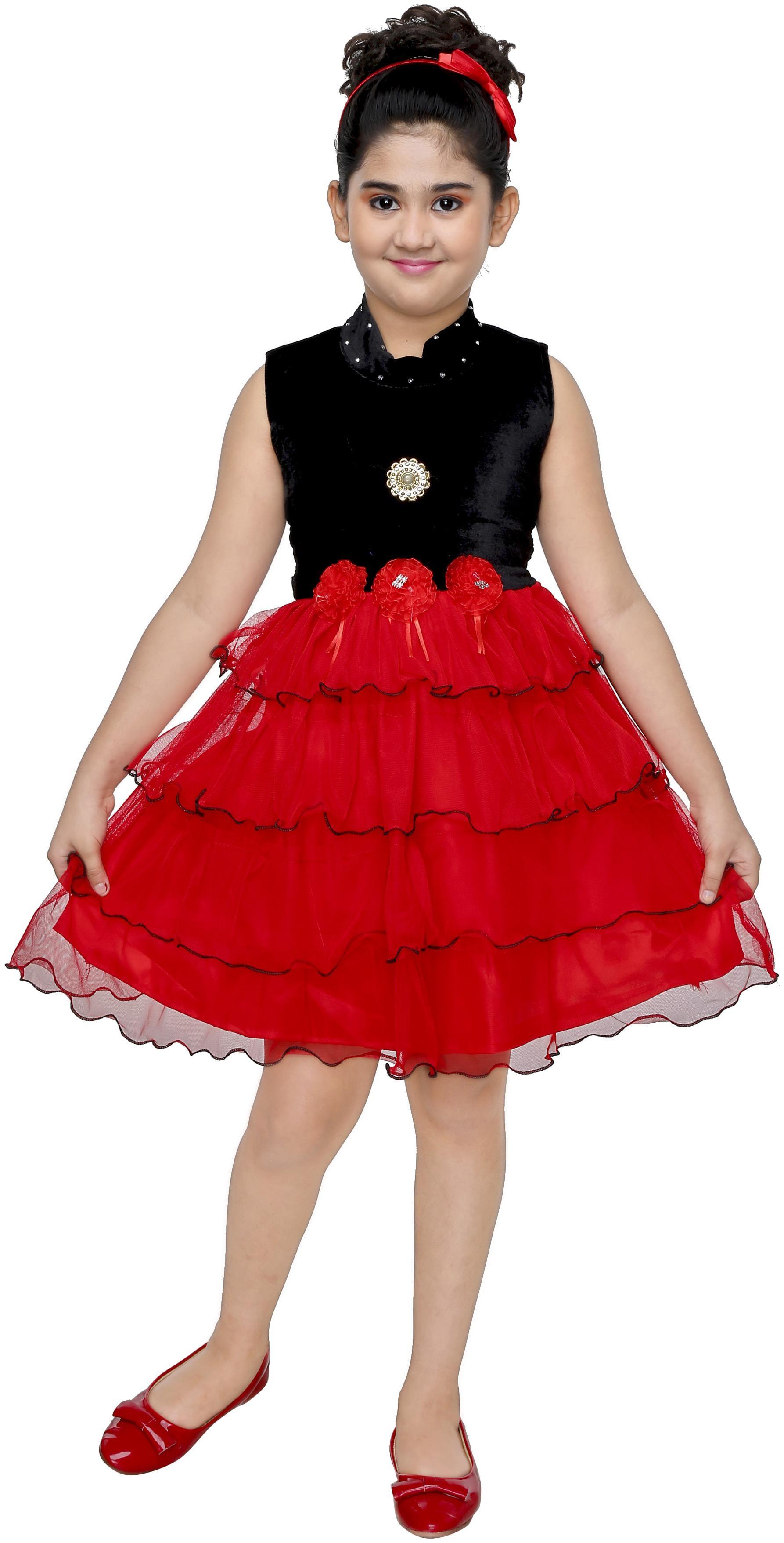 The Panda Ant Midi/Knee Length Party Dress by Jio India