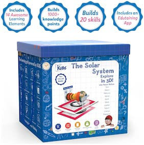The Solar System KUBE - Virtual Reality(VR), Augmented Reality (AR), Digital Games powered Educational Toy- The best Learning Game for kids!