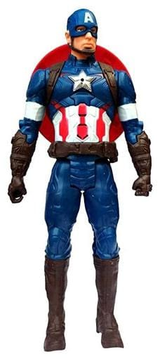 Thelharsa Toys Titan Hero Series Hero Series 12 Inch Action Figure With Led Lights And Sound (30Cm;Red&Blue)