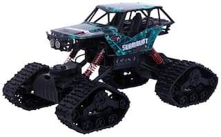 Thelharsa Toys 4x4 Rc Monster Car Off Road Vechile Car;High Speed Racing Monster Car Remote Control Car Toy for Kids (Green&Black)