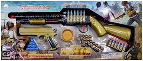 Theme Set S1897 Shot Gun, Hand Gun and Different Types of Bullets