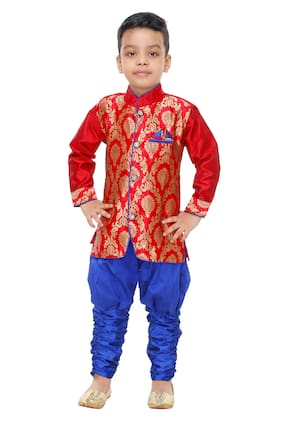 7a46770e26 Boys Ethnic Wear – Buy Boys Ethnic Clothes Online at Best Price in India