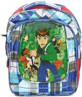 Three Shades School Bag Ben10 Waterproof School Bag  (Multi)