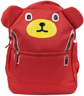 Three Shades Cute Bunny Teddyfor Boys & Girls  (Red)