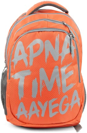 Three Shades Apna Time Aayega Waterproof Multipurpose Bag  (Orange)