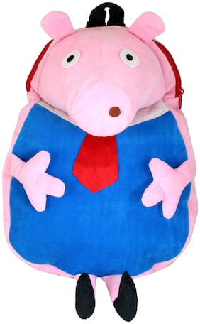 Tickles 12-24 Months Plush Bags For Boys And Girls (Pink;Blue)