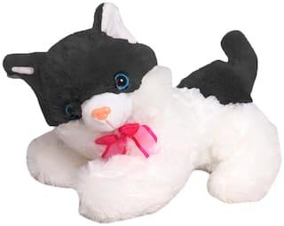 Tickles Black Lovely Soft Cat Soft Stuffed for Kids