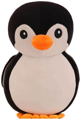 Tickles Black Cartoon Penguin Plush Toy Soft Doll
