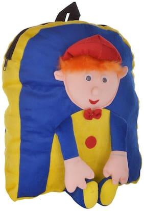 Tickles Blue Blue Boy Bag Kid Stuffed Soft Plush Toy 33 cm AT-B263 ( 3 Liters )