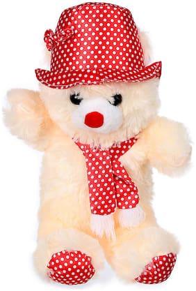 Tickles Peach Teddy Bear - 30 cm