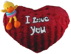 Tickles Duck I love you cushion Soft Stuffed For Kids 30 cm