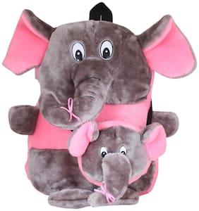 Tickles Elephant Shoulder School Bagpack for Nursery Kids Girls Boys 35 cm