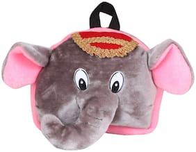 Tickles Elephant Shoulder School Bagpack for Nursery Kids Girls Boys 26 cm