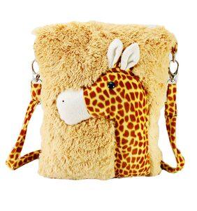 Tickles Giraffe School Sling Bag For Kids Soft Stuffed For Kids 36 cm ( 3 Liters )