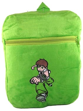 Tickles Green Magical Power Boy Bag Stuffed Soft Plush Toy 34 Cm ( 3 Liters )