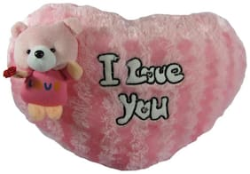 Tickles I love you cushion Soft Stuffed For Kids 37 cm