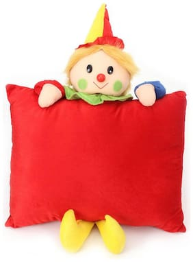 Tickles Joker Cushion Soft Stuffed For Kids 33 cm