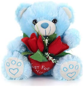 Tickles Blue Teddy Bear - 24 cm , 1