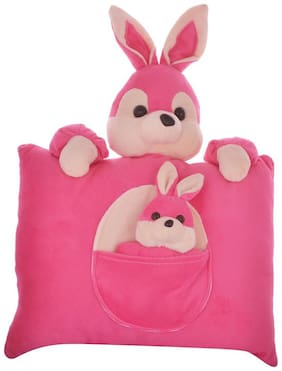 Tickles Mother Rabbit Cushion Soft Stuffed For Kids 35 cm