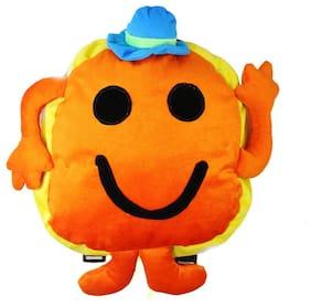 Tickles Orange Mr. Strong Man School Bags For Kids 30 cm ( 4 Liters )