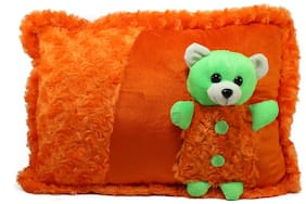 Tickles Orange Cute Teddy Soft Cushion Toy Stuffed Soft Plush Toy Girl 38 Cm